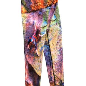 JPL Rock Climbing Leggings adventure running clothes. Feel in comfort dining out, backpacking on a hike or sitting by a tent and campfire.