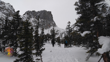 Emerald Lake Snowshoeing RMNP Photo Essay