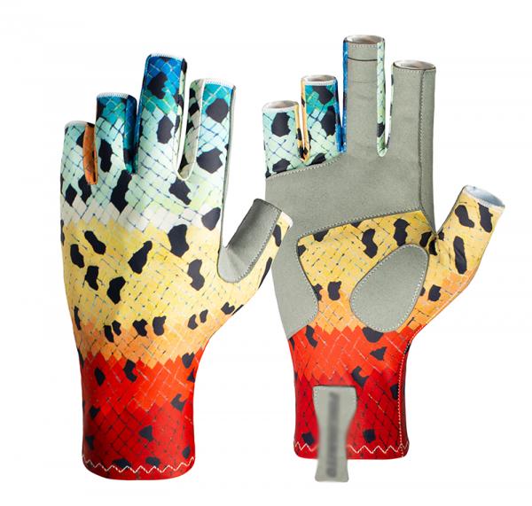 Rainbow Trout SunPro Gloves