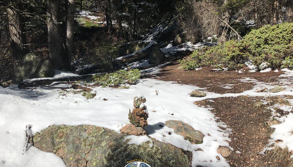 cairns on Hike Harmonica Arch Similitude 1-8