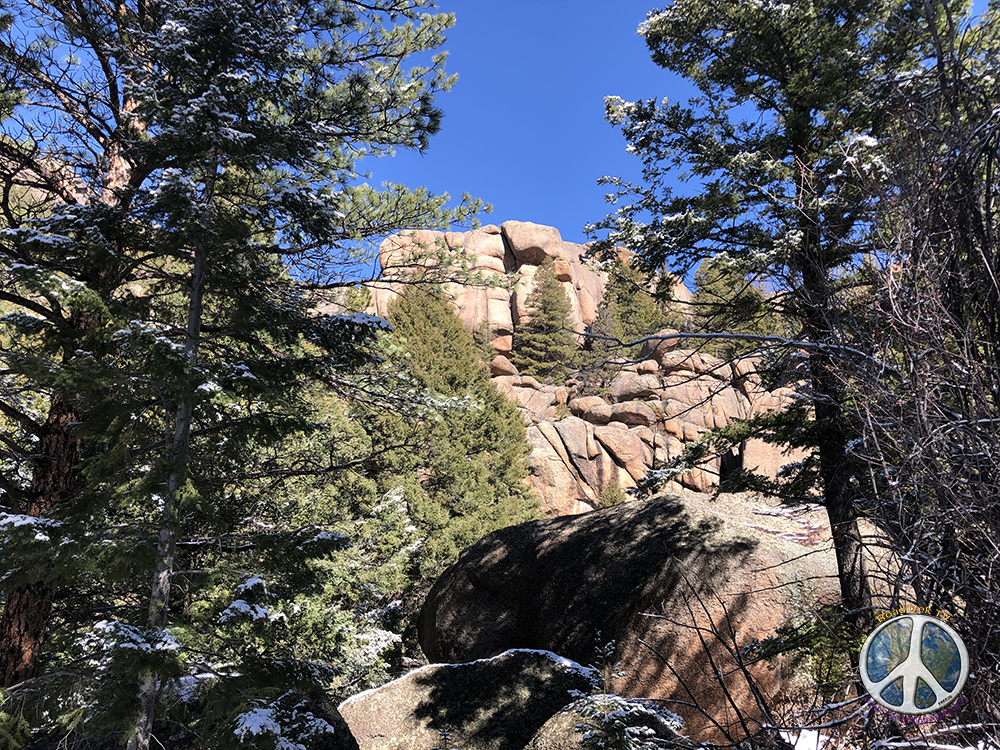 Lost Creek Wilderness is a wilderness of rock formations at every turn