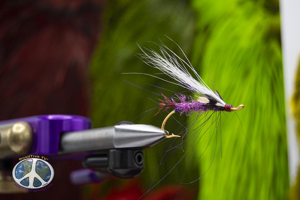 Fuchsia Flash Spey Fly
