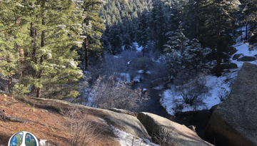 In Lost Creek Wilderness Hike Harmonica Arch Similitude 1-4 Left at Bridge