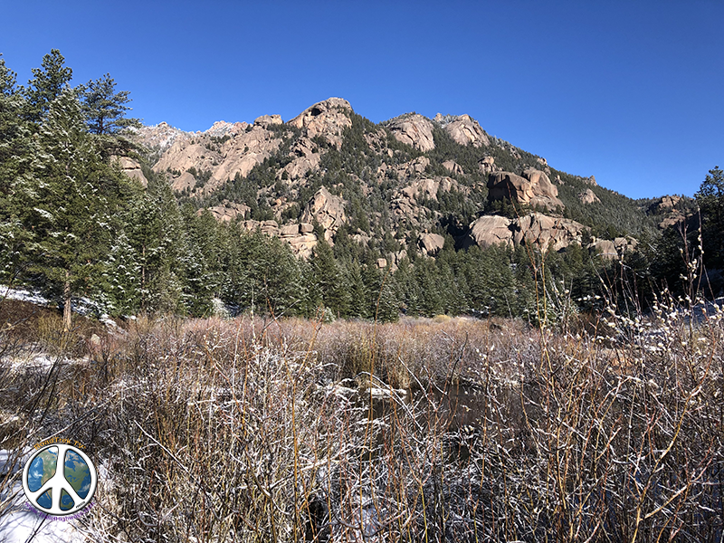 Just can't get over the rock formation in Lost Creek Wilderness