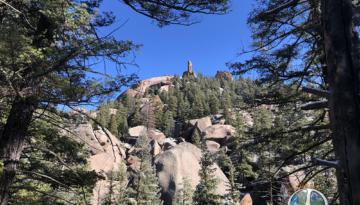 Stove Pipe Rock Lost Creek Wilderness