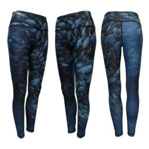 Scuba Jacks Patterned Leggings