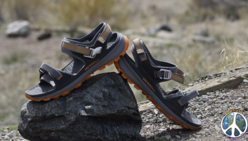 Outdoor sandal innovation has finally reached the pinnacle of functionality! Living in a drift boat and on hiking trails most of my adult life, my shoe of choice has mostly been a sandal,
