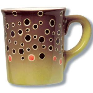 Mugs Brown Trout Stoneware