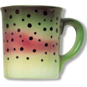 Mug Rainbow Trout Stoneware