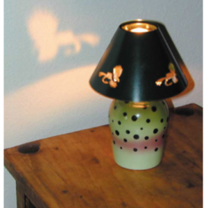 Candle Lamp Rainbow Trout
