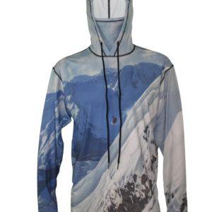 Snowboarder-2 Ski Hoodie