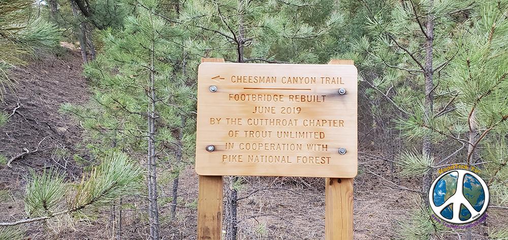 Cheesman Canyon Similitude-1 Hike Along the South Platte RiverOn a sunny Sunday morning arrived at the Cheesman Canyon Trailhead for a loop hike