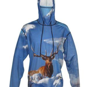 Yellowstone Park Elk Hoodie