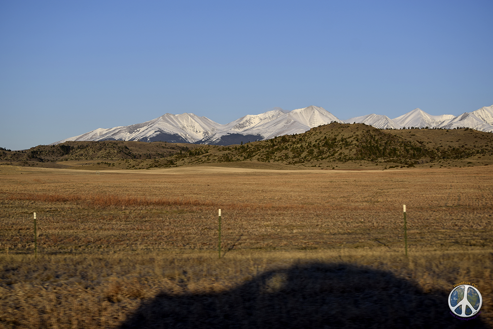 Crazy Mountains are a stunning back drop this morning as adventure beings